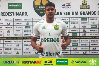 Atacante ex-ABC-RN com 20 gols na temporada é apresentado como novo jogador do Cuiabá
