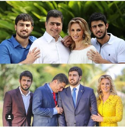 Políticos comemoram o Dia da Família no Instagram