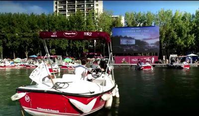 Paris transforma Rio Sena em cinema a céu aberto