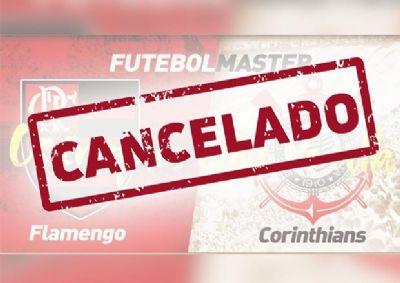 Secretaria informa sobre cancelamento da partida Flamengo e Corinthians