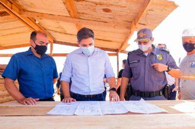 Nova sede da escola militar começa a ser construída em Sorriso