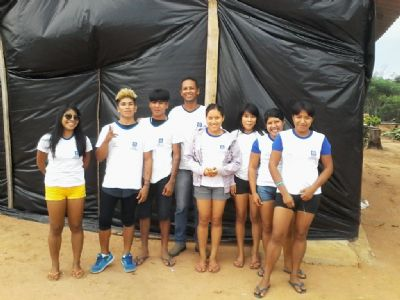 Alunos indígenas sonham ingressar em uma universidade para ajudar comunidade