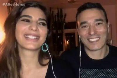 Andréia Sadi diz que já fez Rizek dormir no sofá: 'fiquei com pena'