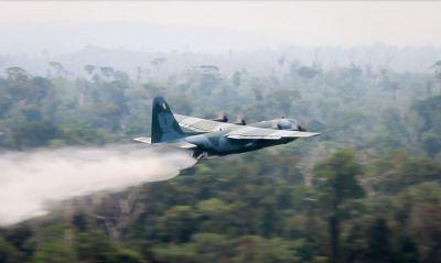 Vice-presidente manifesta preocupação com incêndios na Amazônia