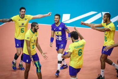 Brasil encara Rússia no fim da quarta semana de classificação da Liga das Nações