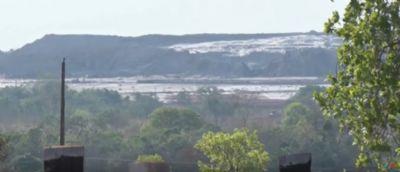 Barragem de mineradora estoura em Mato Grosso; duas pessoas se ferem - vídeo