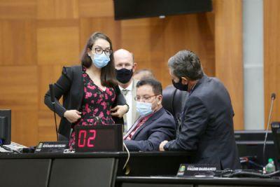 Ação no STF questiona recondução de mesa diretora na ALMT