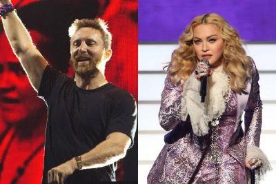 David Guetta diz que Madonna não gravou disco com ele por causa de signo