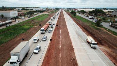 DNIT acompanha tráfego no Distrito Industrial com apoio de órgãos e concessionária