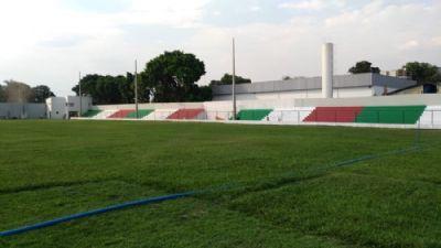 Em ritmo acelerado, obras no Dito Souza estão em fase final e estádio será inaugurado em outubro
