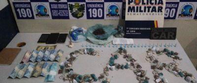 PM descobre rede de tráfico de droga e autores de sequestro em Barra do Bugres