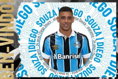 Grêmio confirma retorno de Diego Souza após 13 anos