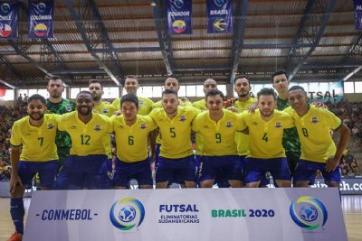 Brasil se classifica para Copa do Mundo de futsal