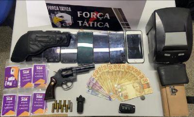 Força Tática descobre casa usada para aplicar golpe de compra e venda pela internet