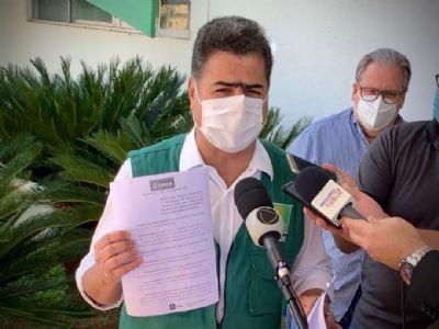 Emanuel nega anuência a velório, diz que 'fala na imprensa não é prova' e recorre de multa