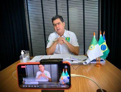 Emanuel inicia 'campanha' pelo interior para apresentar projeto para 2022