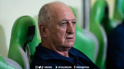 Felipão não é mais o treinador do Cruzeiro