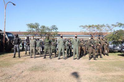 Exército reforça combate ao desmatamento ilegal em MT a partir deste sábado