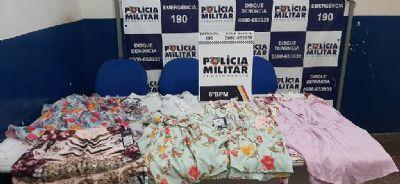Mulheres confessam furto de roupas em loja de Cáceres