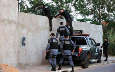 Operação na fronteira