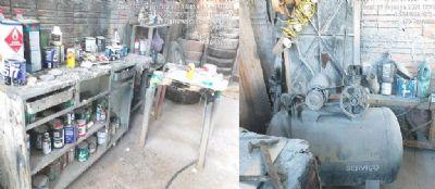 Sem licença ambiental, funilaria é embargada e proprietário multado em R$ 30 mil