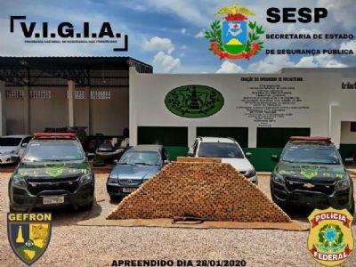 Gefron causa prejuízo financeiro de R$ 17,9 milhões em organizações criminosas