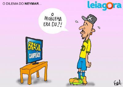 O dilema do Neymar...
