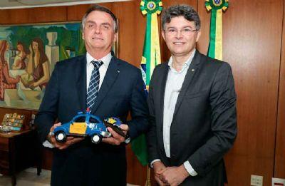 Medeiros vai à carreata pró-Bolsonaro