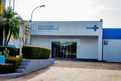 Hospital Regional de Rondonópolis passa a ofertar serviço de hemodiálise