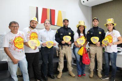 Detran-MT inicia ações preventivas e educativas para o carnaval