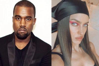 Kanye West é visto com Irina Shayk e fãs surtam com possível affair