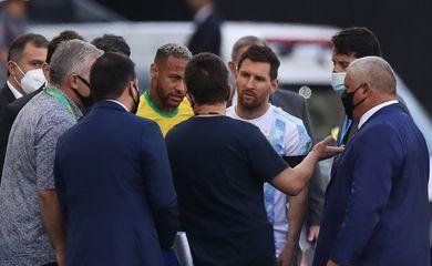 Anvisa paralisa jogo entre Brasil e Argentina pelas Eliminatórias