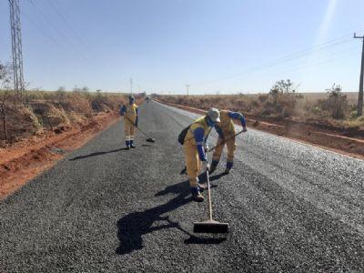 Governo assina cooperação para pavimentação de 41 km na MT-208