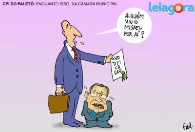 CPI do Paletó: Enquanto isso na Câmara de Cuiabá...