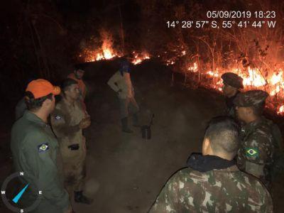 Parque Sesc Serra Azul é atingido por incêndio e fica fechado; veja vídeo