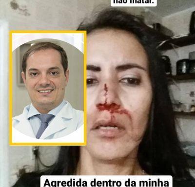 Médico acusado de agredir namorada com chutes no rosto é solto sem fiança