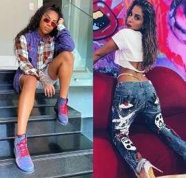 Ludmilla expõe áudios com Anitta e detona a cantora nas redes sociais