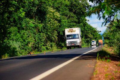 Governo finaliza restauração de 79,8 quilômetros da MT-246