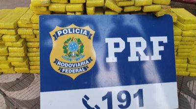 PRF apreende 123kg de maconha em Rondonópolis