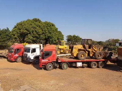 Maquinário apreendido em operação contra desmatamento reforça combate a incêndios no Pantanal