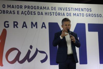 Programa Mais MT terá R$ 9,5 bilhões de investimento em 12 eixos