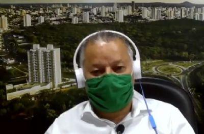 Misael critica falta de consciência da população e pede que Cuiabá não pague a conta sozinha
