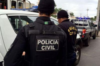 Polícias Civil e Militar prendem casal de traficante no interior do Estado