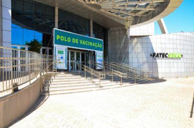 Novo polo de vacinação em Cuiabá
