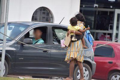 VG visa acabar com exposição infantil em semáforos e guarda de crianças podem ser tomadas
