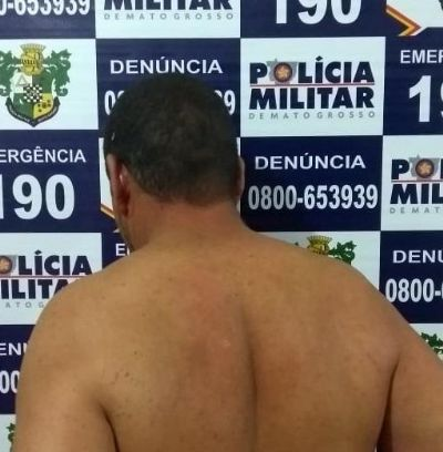 Por ameaçar mulher e enteado homem é preso em Araguaiana