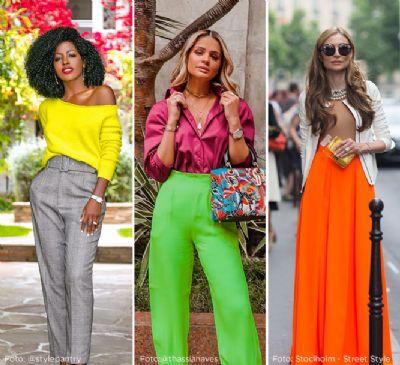 Com cores neon e casaco pelúcia, inverno chega com tendências pouco discretas na moda