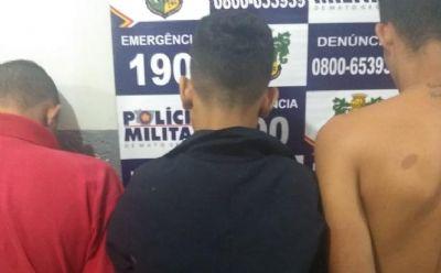 Menores são apreendidos por tentativa de homicídio e tráfico de drogas em Barra do Garças