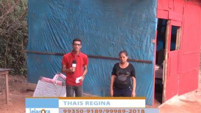 Família que veio embora de Maceió para tentar vida em Cuiabá passa por dificuldades; veja vídeo