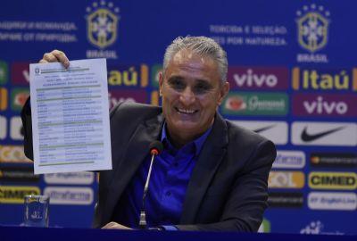 Tite convoca seleção para amistosos sem Neymar e jogadores de times do Brasil